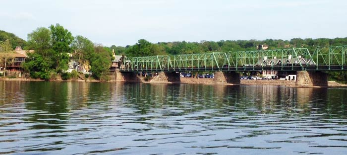 What to do in Lambertville along the Delaware River in Hunterdon County, NJ